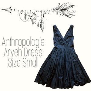 Anthropologie Aryeh Black Cocktail Dress Small